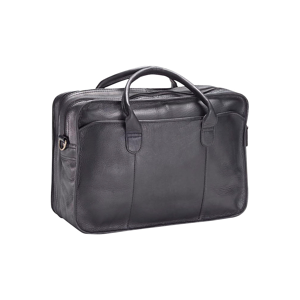 Clava Vachetta Leather Legal Briefcase - Vachetta Black - Work Bags & Briefcases, Non-Wheeled Business Cases