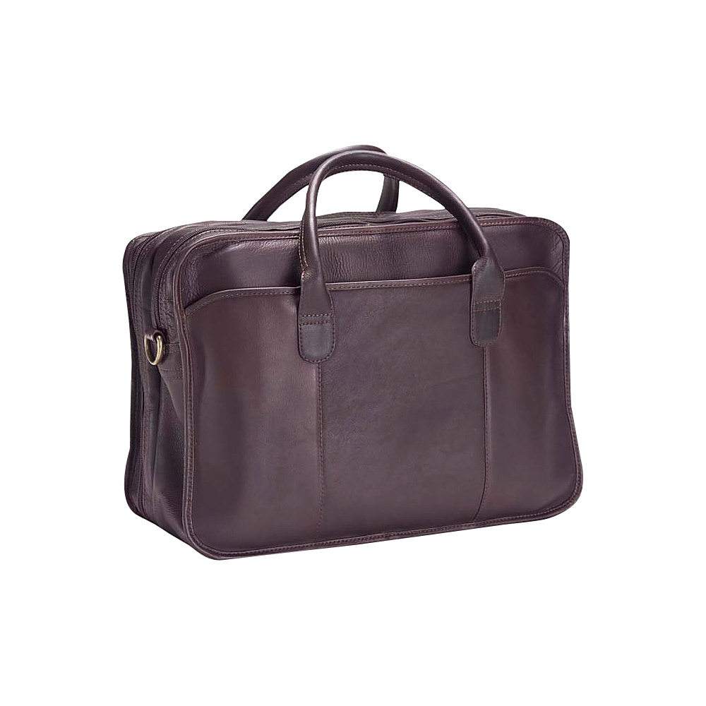 Clava Vachetta Leather Legal Briefcase - Vachetta Cafe - Work Bags & Briefcases, Non-Wheeled Business Cases