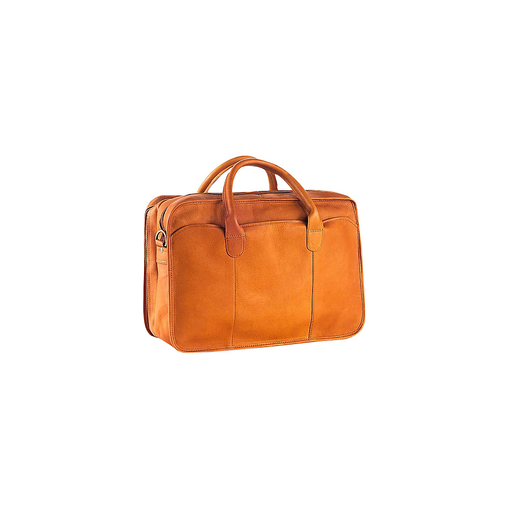 Clava Vachetta Leather Legal Briefcase - Vachetta Tan - Work Bags & Briefcases, Non-Wheeled Business Cases