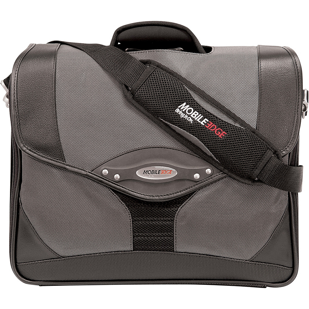 Mobile Edge Heritage Premium Briefcase - 14.1PC / 15 - Work Bags & Briefcases, Non-Wheeled Business Cases