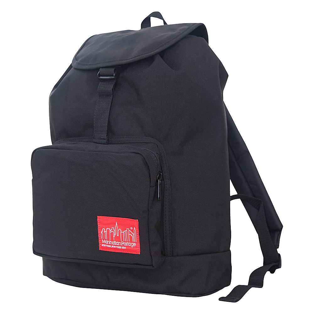 Manhattan Portage DAKOTA Backpack - Black - Backpacks, Everyday Backpacks