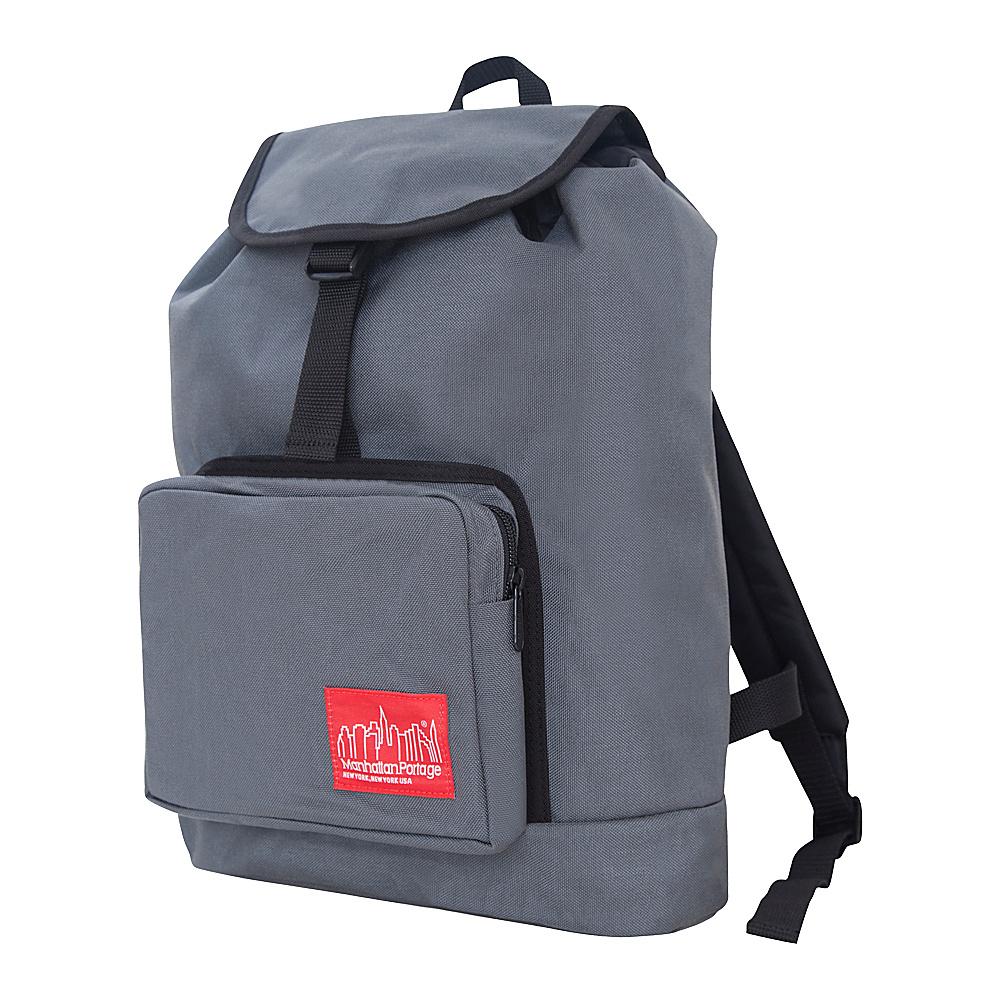 Manhattan Portage DAKOTA Backpack Gray - Manhattan Portage Everyday Backpacks - Backpacks, Everyday Backpacks