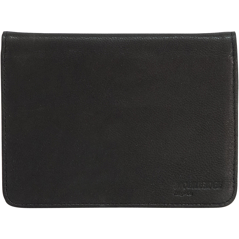 Mobile Edge RFID Sentry Passport Wallet - Black