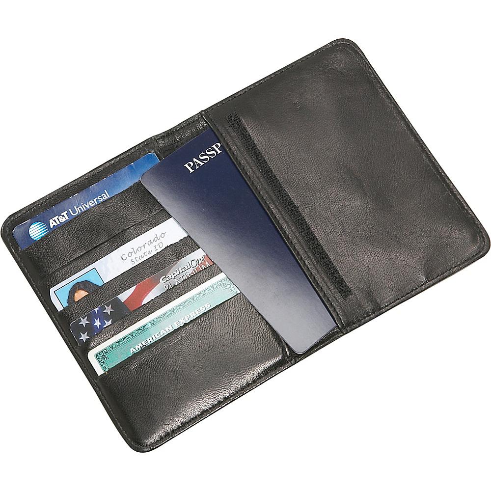 Mobile Edge RFID Sentry Passport Wallet - Black