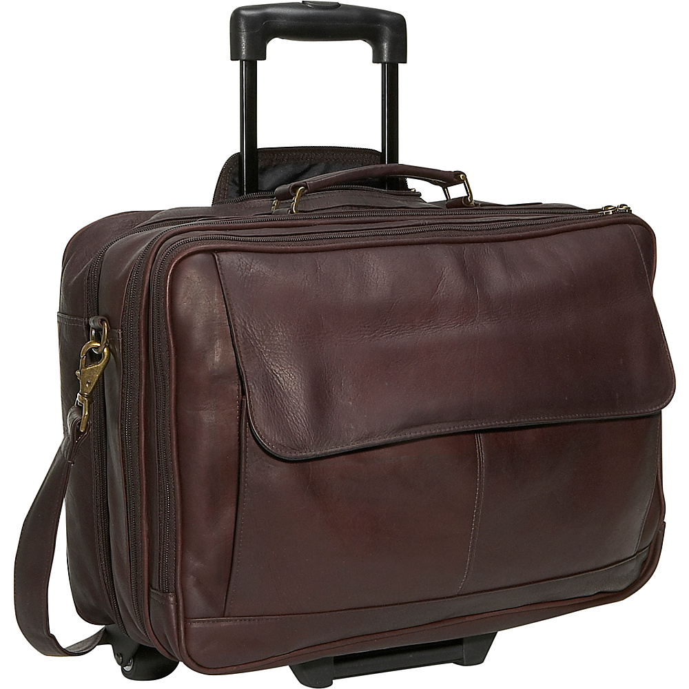 David King & Co. Wheeled Briefcase Cafe - David King & Co. Wheeled Business Cases