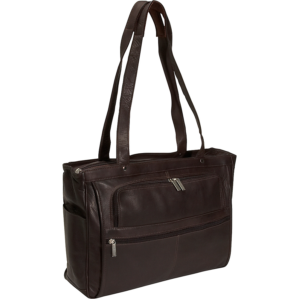 David King & Co. Womens Multipocket Laptop Briefcase - - Work Bags & Briefcases, Women's Business Bags