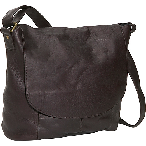 David King & Co. Vertical Simple Messenger Cafe - David King & Co. Messenger Bags