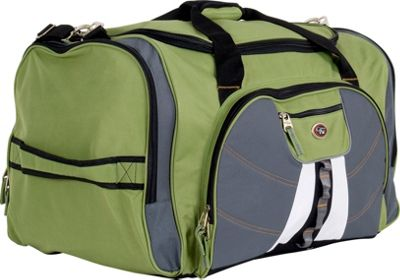 CalPak Hollywood 27 inch Duffle - Lime Green/Gray
