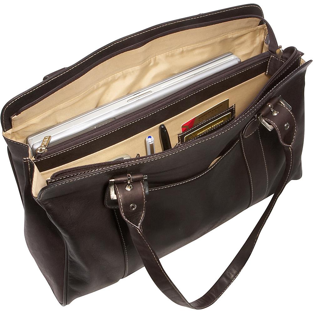Piel Ladies Buckle Laptop Tote Apple - Piel Women's Business Bags