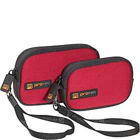 Small Electronics/All Purpose Neoprene Pods - Pair  Red