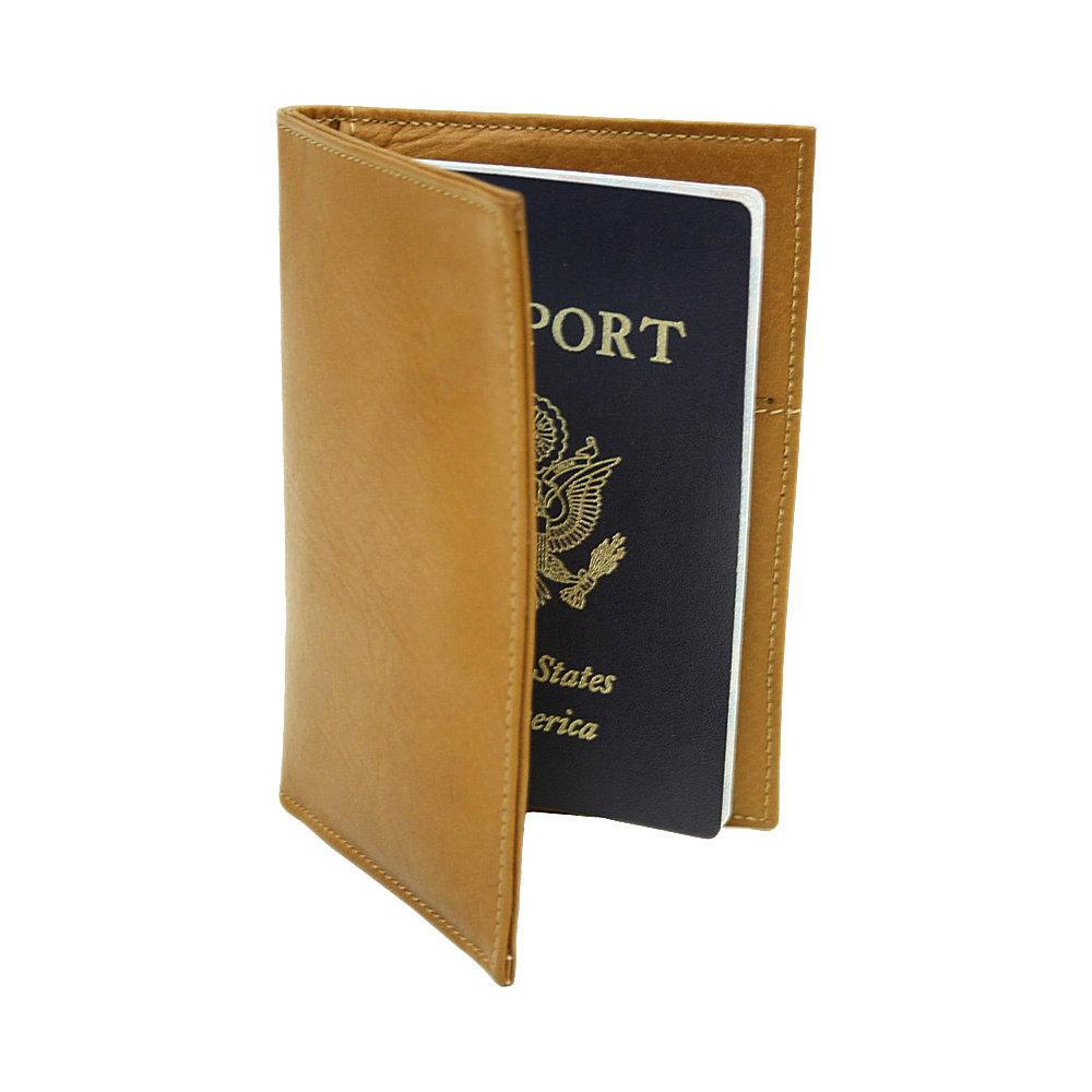 Piel Passport Cover - Saddle - Travel Accessories, Travel Wallets