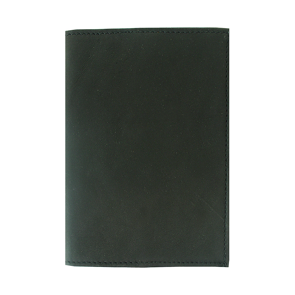 Piel Passport Cover - Black - Travel Accessories, Travel Wallets
