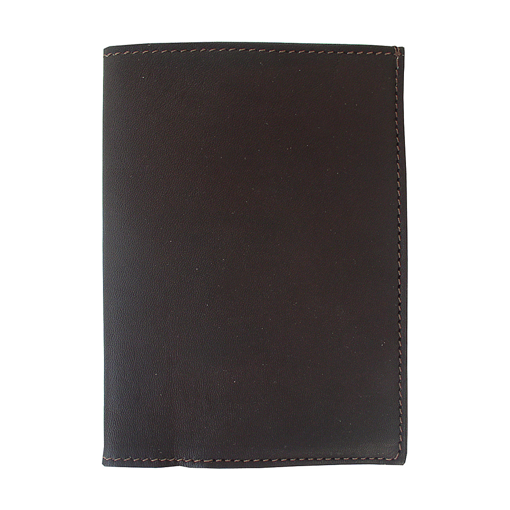 Piel Passport Cover - Chocolate - Travel Accessories, Travel Wallets