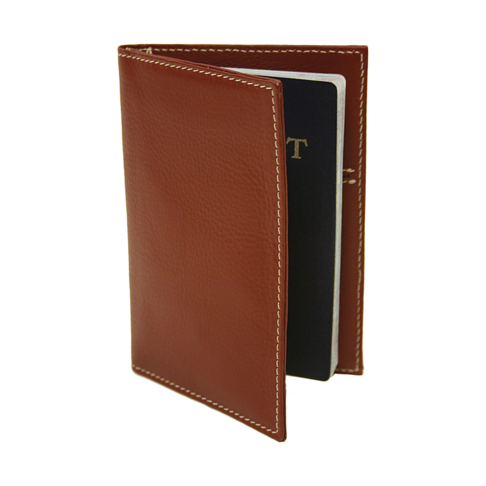 Piel Passport Cover - Red - Travel Accessories, Travel Wallets