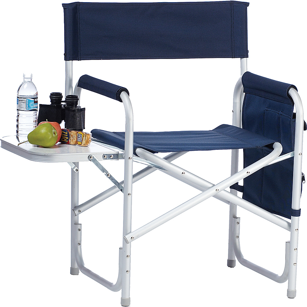 Picnic Plus Director s Chair Navy 2 tone