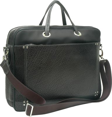 TUSK LTD Amsterdam Computer Briefbag Black - TUSK LTD Non-Wheeled Computer Cases