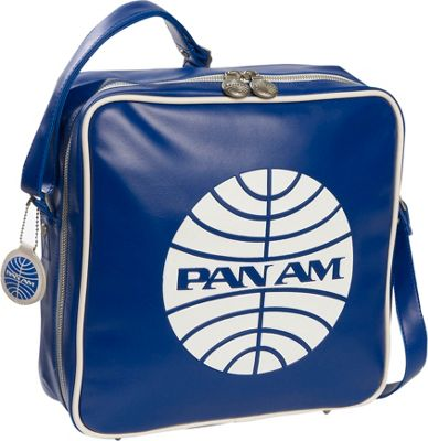 Pan Am Innovator Pan Am Blue/Vintage White - Pan Am Luggage Totes and Satchels