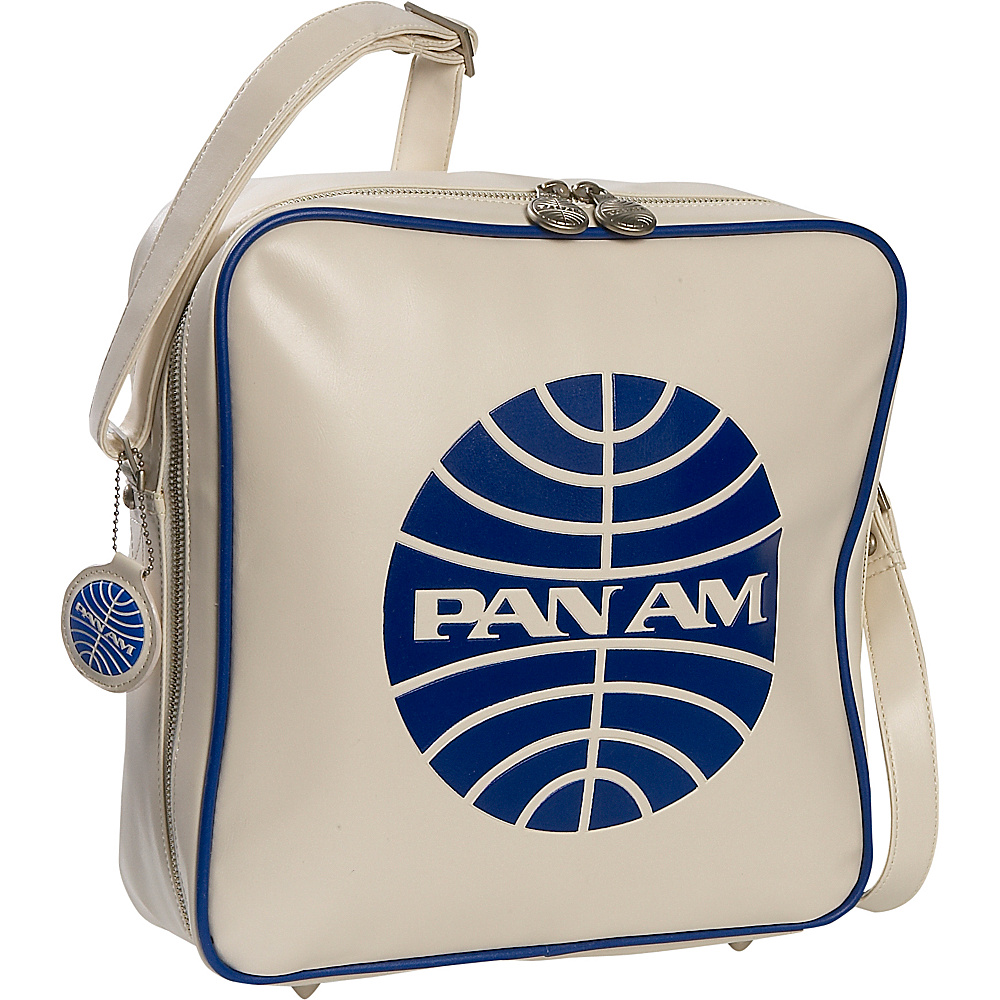 Pan Am Innovator Vintage White/Pan Am Blue - Pan Am Luggage Totes and Satchels - Luggage, Luggage Totes and Satchels