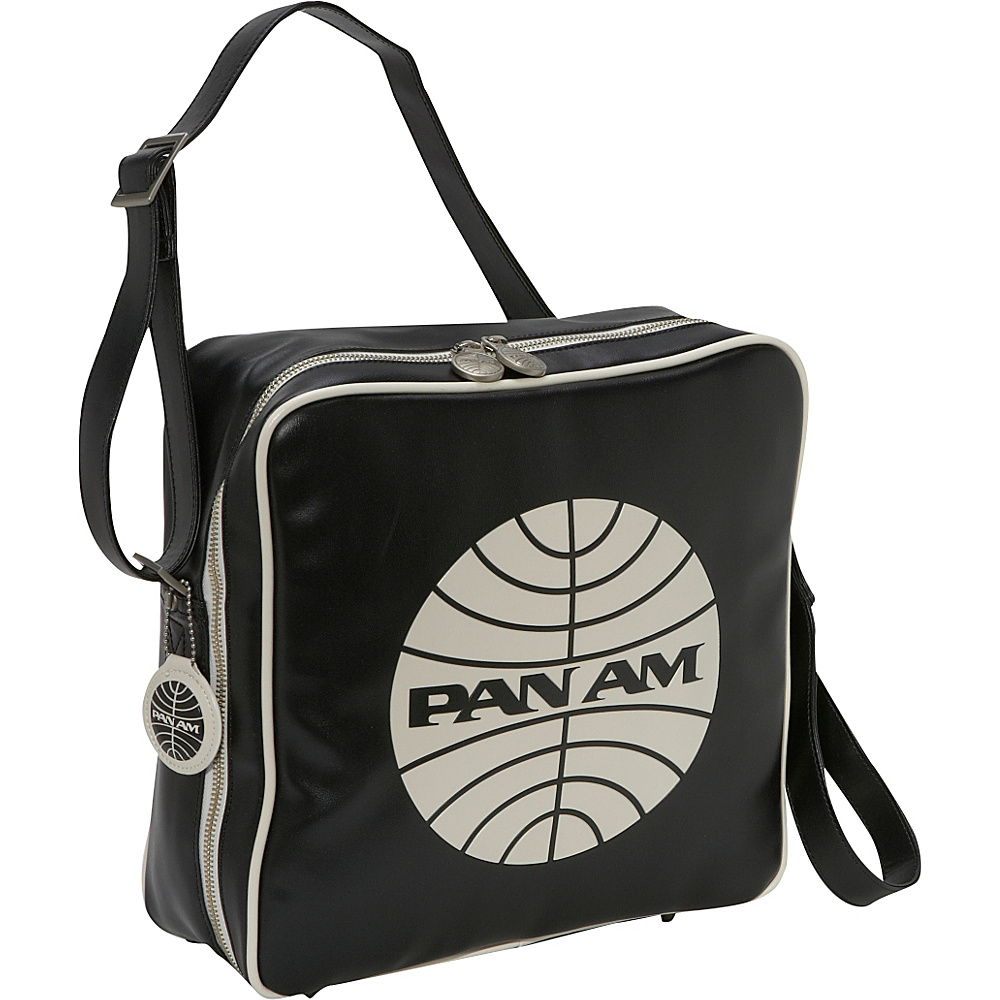 Pan Am Innovator Black/Vintage White (BLK) - Pan Am Luggage Totes and Satchels - Luggage, Luggage Totes and Satchels