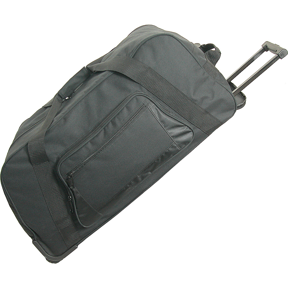Netpack 24 Sports Wheeled Duffel - Black - Luggage, Rolling Duffels