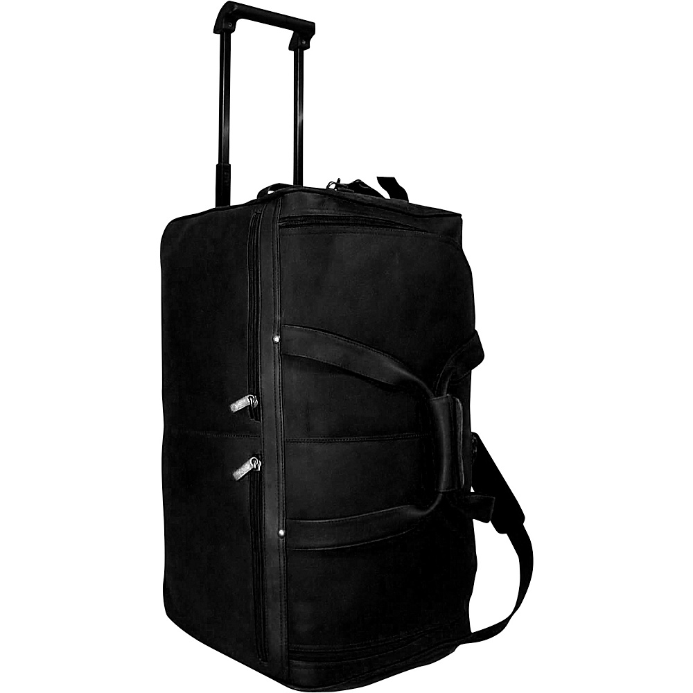 David King & Co. 22 Rolling Duffel Black - David King & Co. Softside Carry-On - Luggage, Softside Carry-On