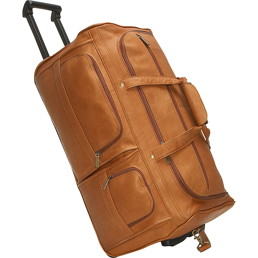 David King & Co. 22 Rolling Duffel Tan - David King & Co. Softside Carry-On - Luggage, Softside Carry-On