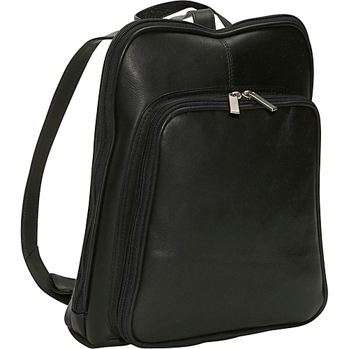 David King & Co. Women's Mid Size Backpack Black