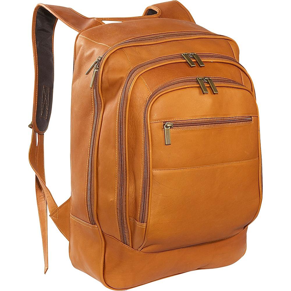 David King & Co. Oversize Laptop Backpack - Tan - Backpacks, Business & Laptop Backpacks