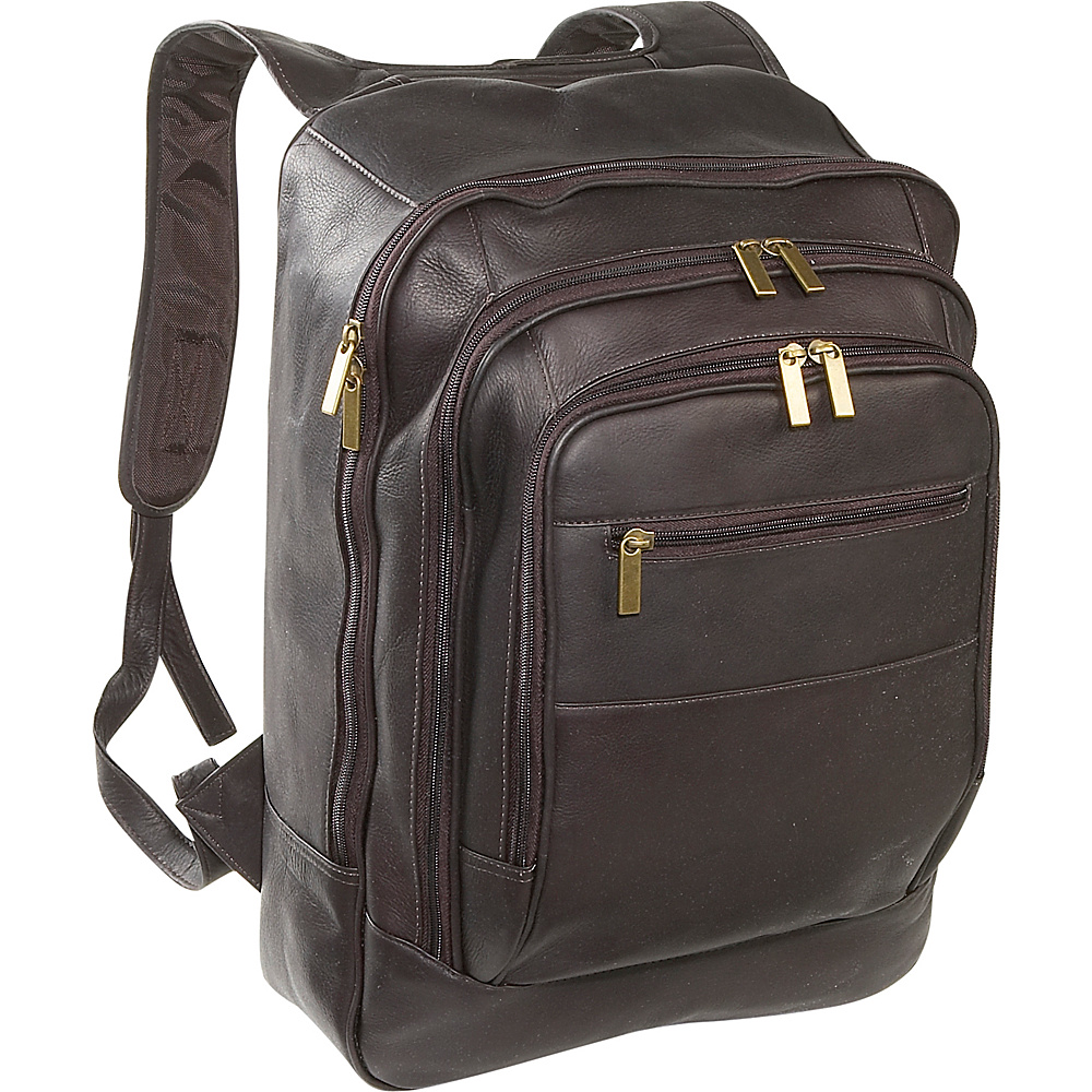 David King & Co. Oversize Laptop Backpack - Cafe - Backpacks, Business & Laptop Backpacks