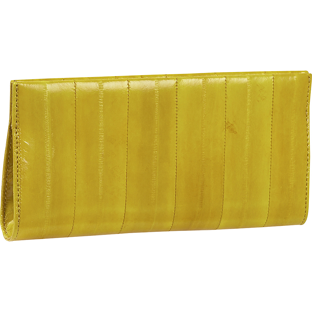 Latico Leathers Eel-ectricity - Yellow - Women's SLG, Women's Wallets