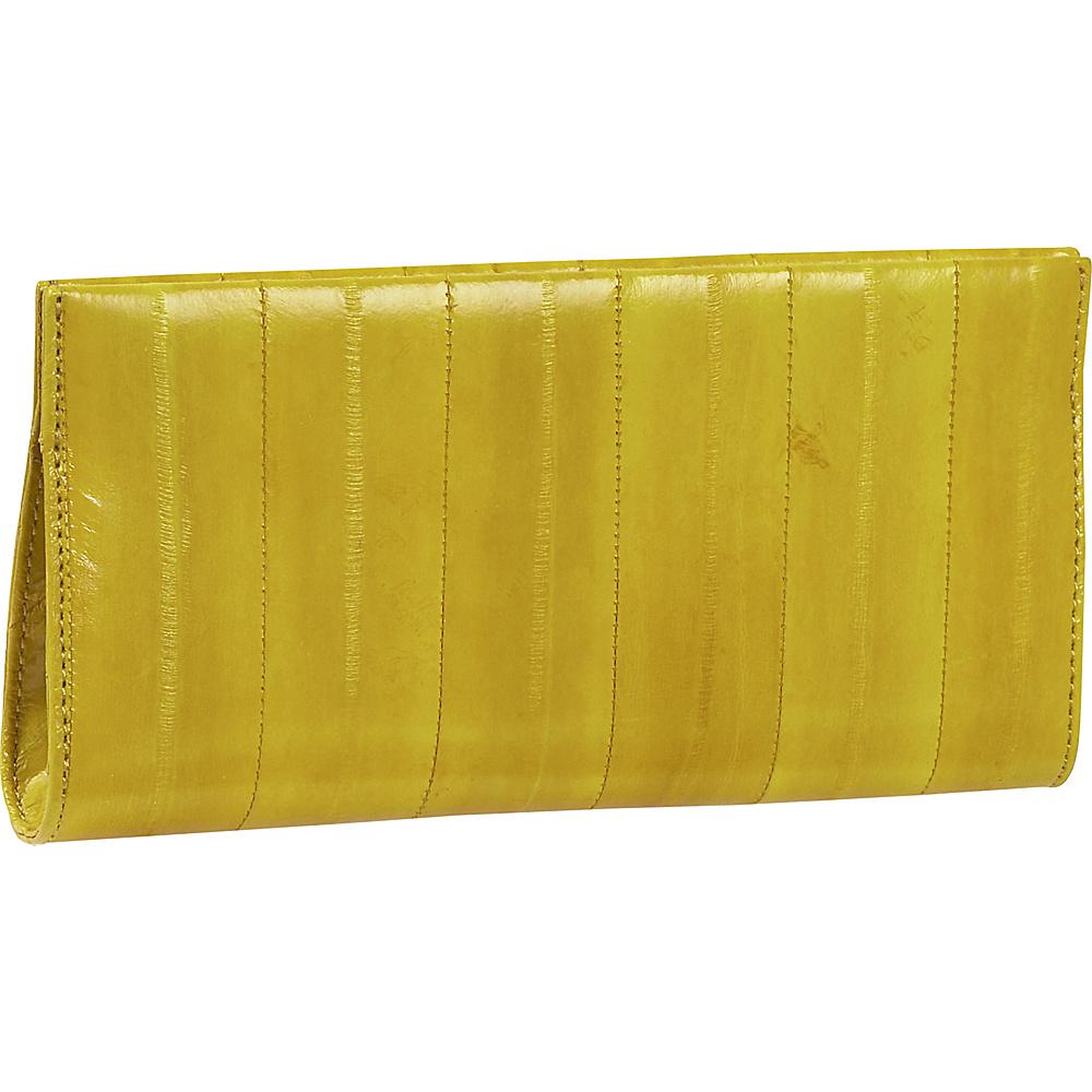 Latico Leathers Eel ectricity Yellow