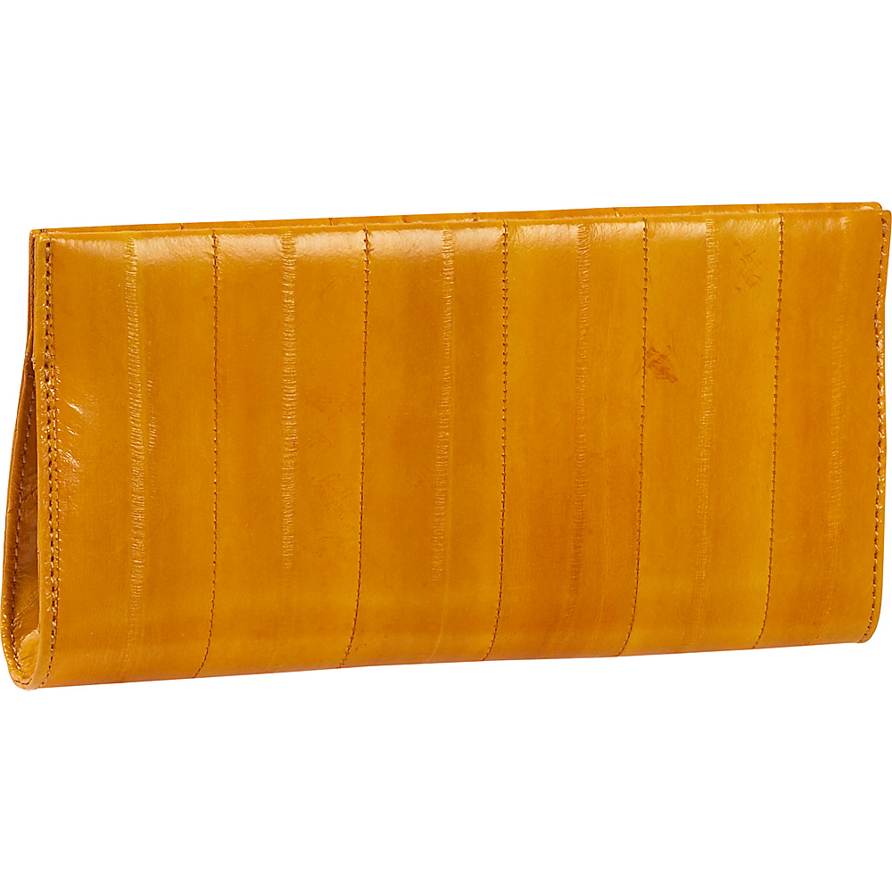 Latico Leathers Eel-ectricity - Orange - Women's SLG, Women's Wallets
