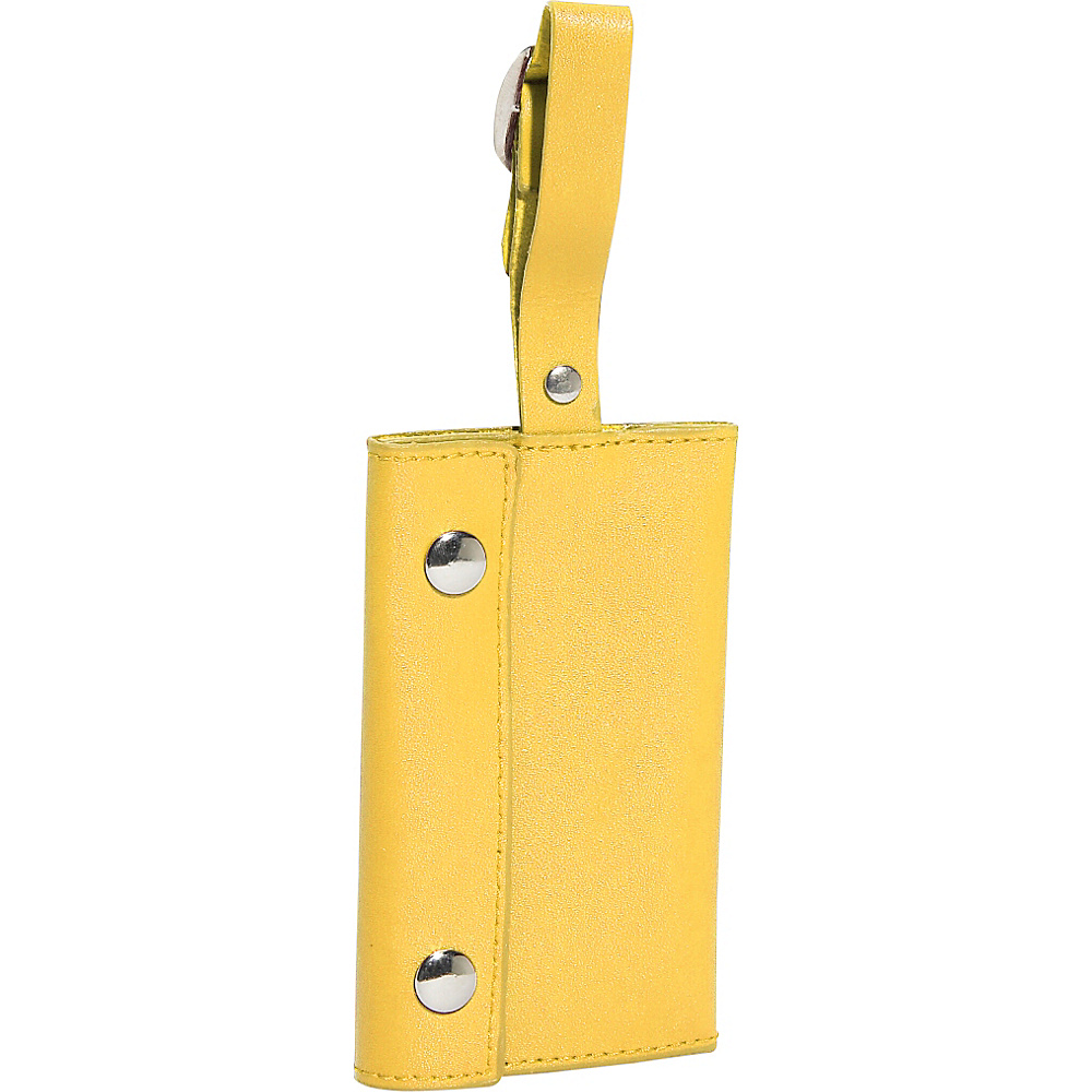 Clava Wrap-Around Luggage Tag - CI Yellow - Travel Accessories, Luggage Accessories