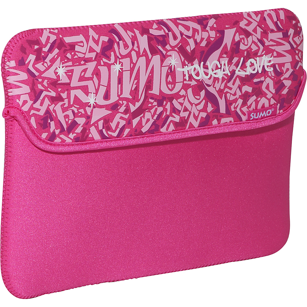 Sumo 10 Graffiti NetBook Sleeve Pink