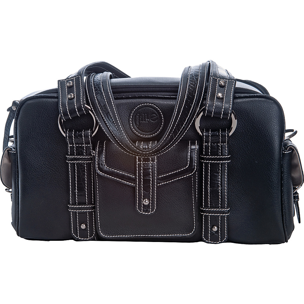 Jill-E Small Leather Camera Bag - Black