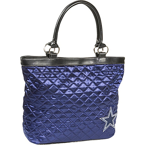 Littlearth NFL Quilted Tote - Dallas Cowboys Dallas Cowboys - Littlearth Fabric Handbags