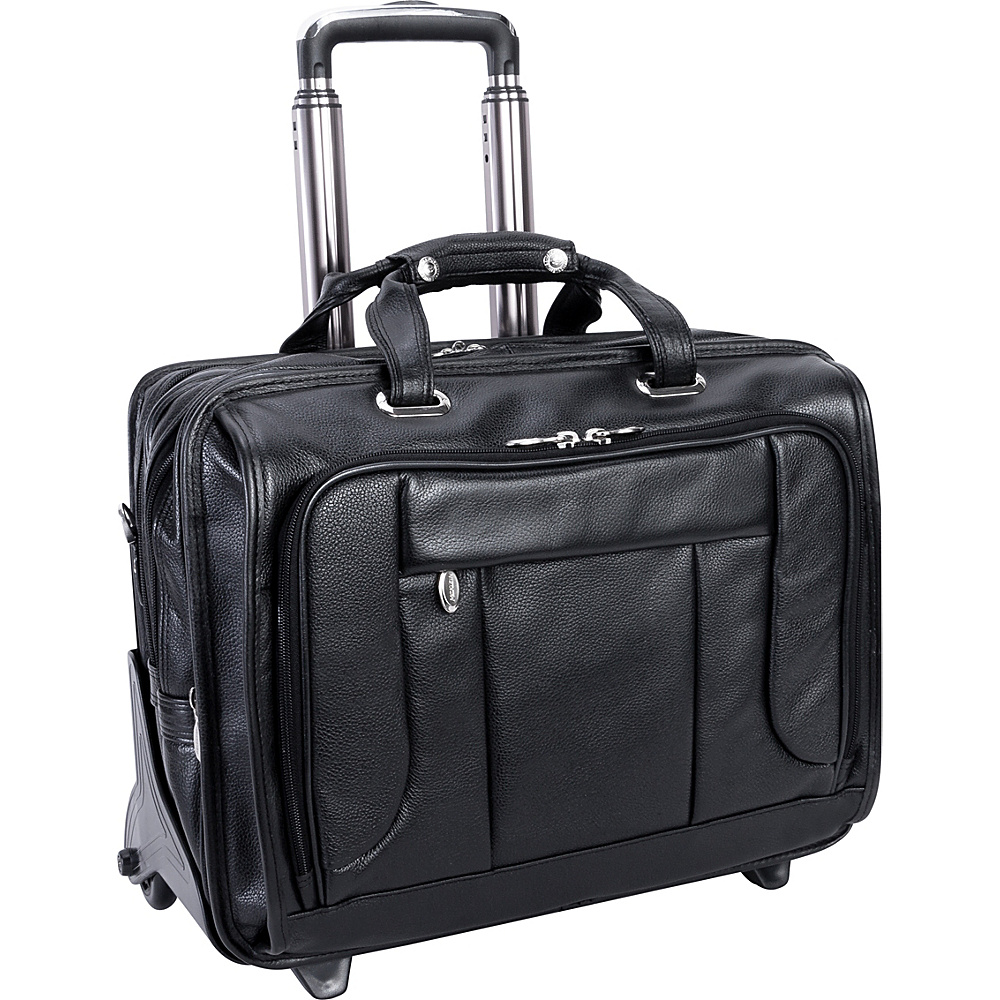 McKlein USA West Town Checkpoint 17 Wheeled Laptop - Work Bags & Briefcases, Wheeled Business Cases