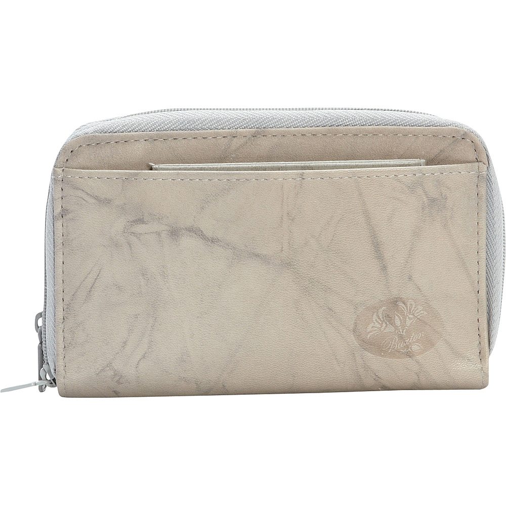 Buxton Heiress Double Zip Indexer Paloma - Buxton Womens Wallets - Women's SLG, Women's Wallets