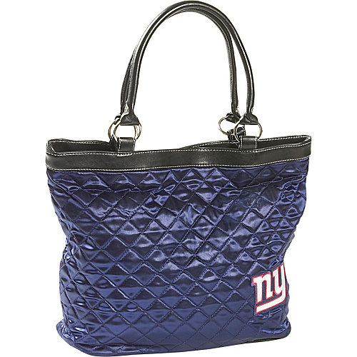 Littlearth Quilted Tote - New York Giants New York Giants - Littlearth Fabric Handbags