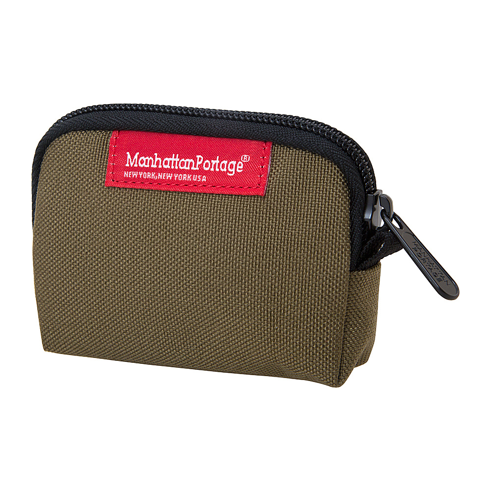 Manhattan Portage Coin Purse Khaki - Manhattan Portage Womens Wallets - Women's SLG, Women's Wallets