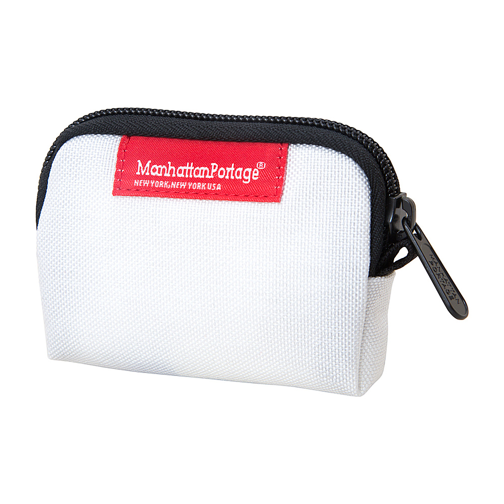 Manhattan Portage Coin Purse White - Manhattan Portage Womens Wallets - Women's SLG, Women's Wallets