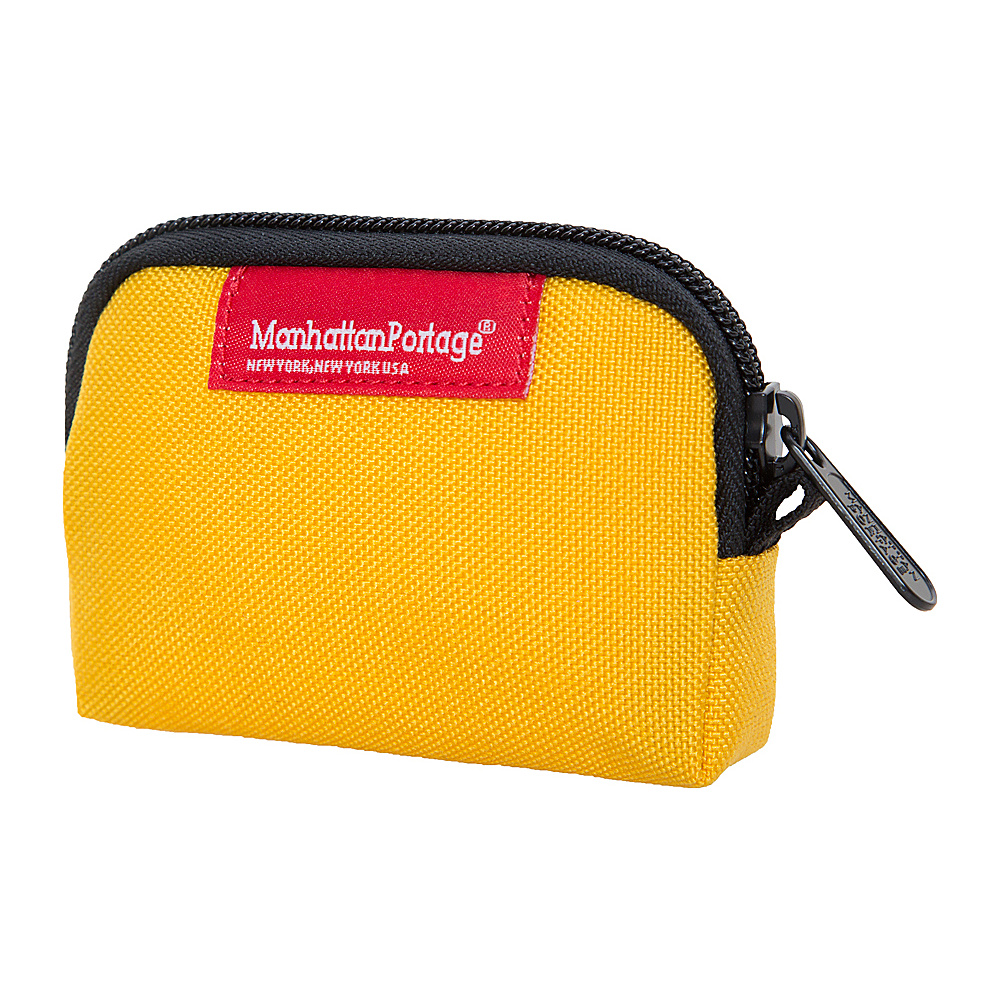 Manhattan Portage Coin Purse Mustard - Manhattan Portage Womens Wallets - Women's SLG, Women's Wallets
