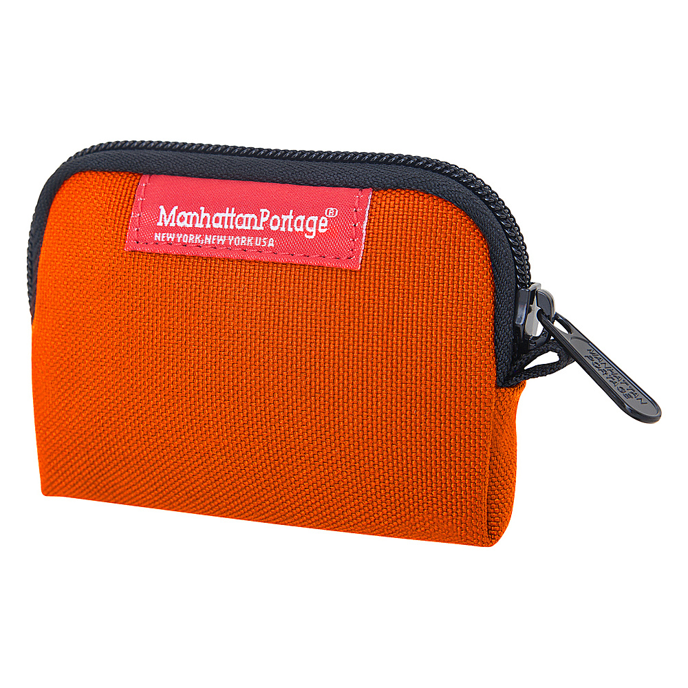 Manhattan Portage Coin Purse Orange - Manhattan Portage Womens Wallets - Women's SLG, Women's Wallets