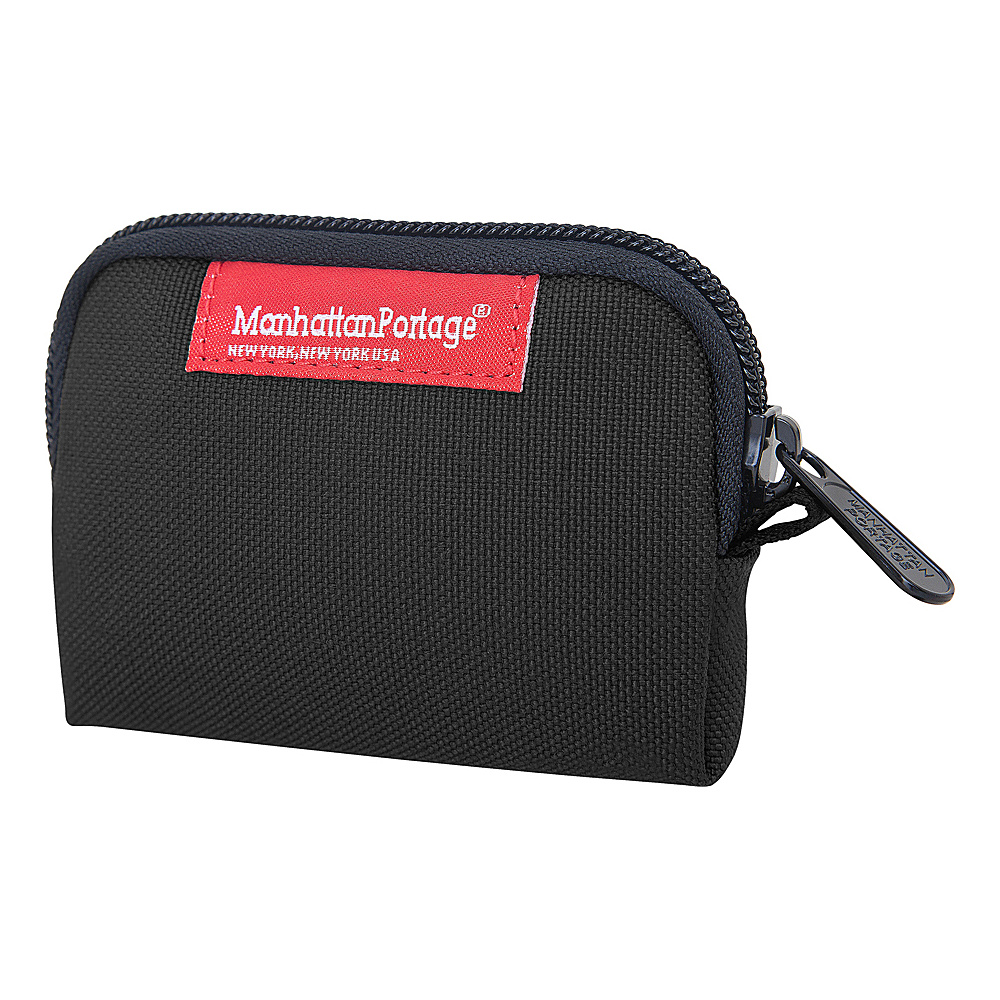 Manhattan Portage Coin Purse Black - Manhattan Portage Womens Wallets - Women's SLG, Women's Wallets