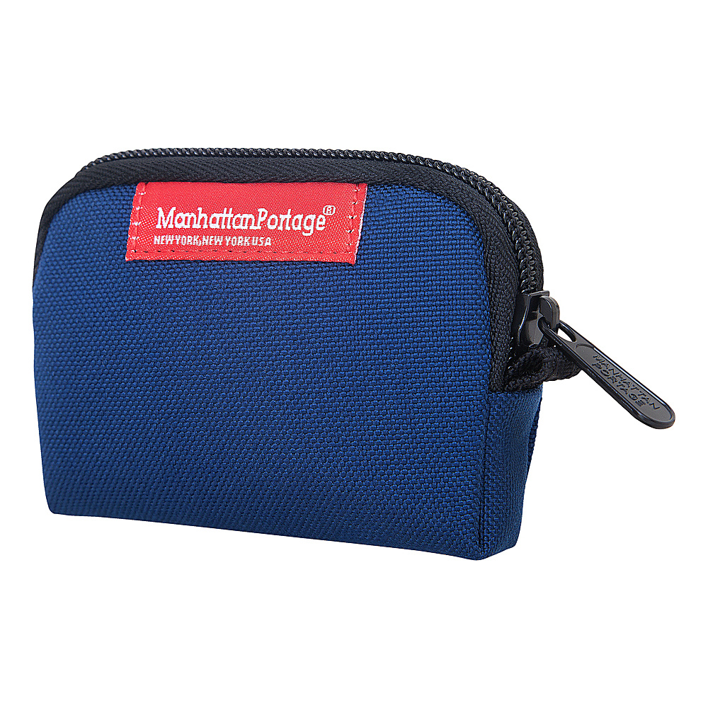 Manhattan Portage Coin Purse Navy - Manhattan Portage Womens Wallets - Women's SLG, Women's Wallets