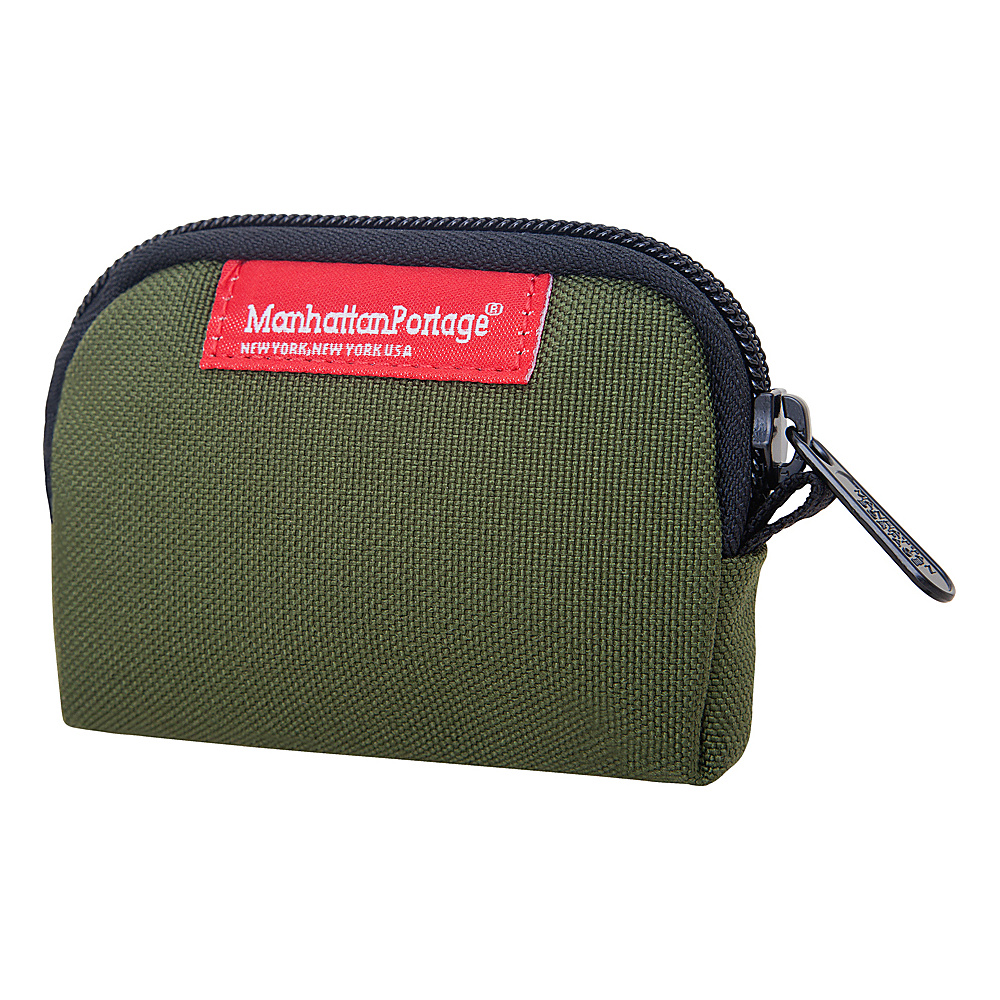 Manhattan Portage Coin Purse Olive - Manhattan Portage Womens Wallets - Women's SLG, Women's Wallets