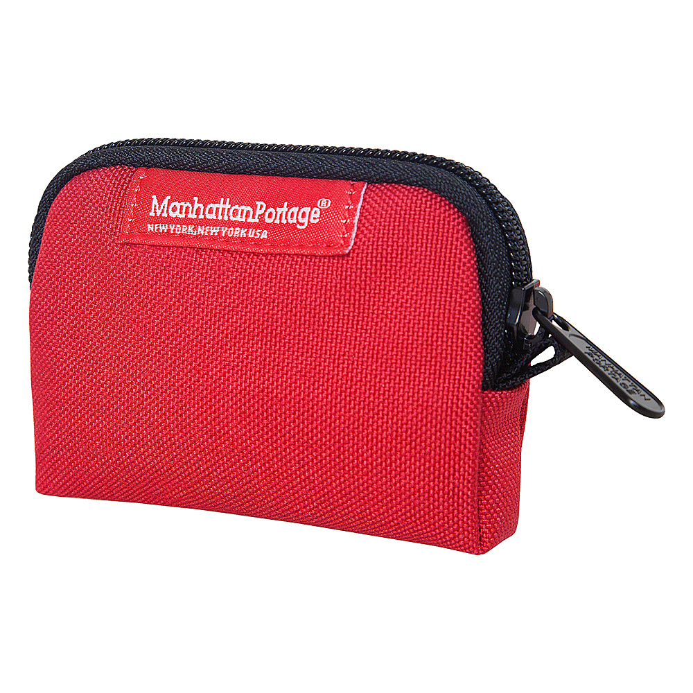 Manhattan Portage Coin Purse Red - Manhattan Portage Womens Wallets - Women's SLG, Women's Wallets