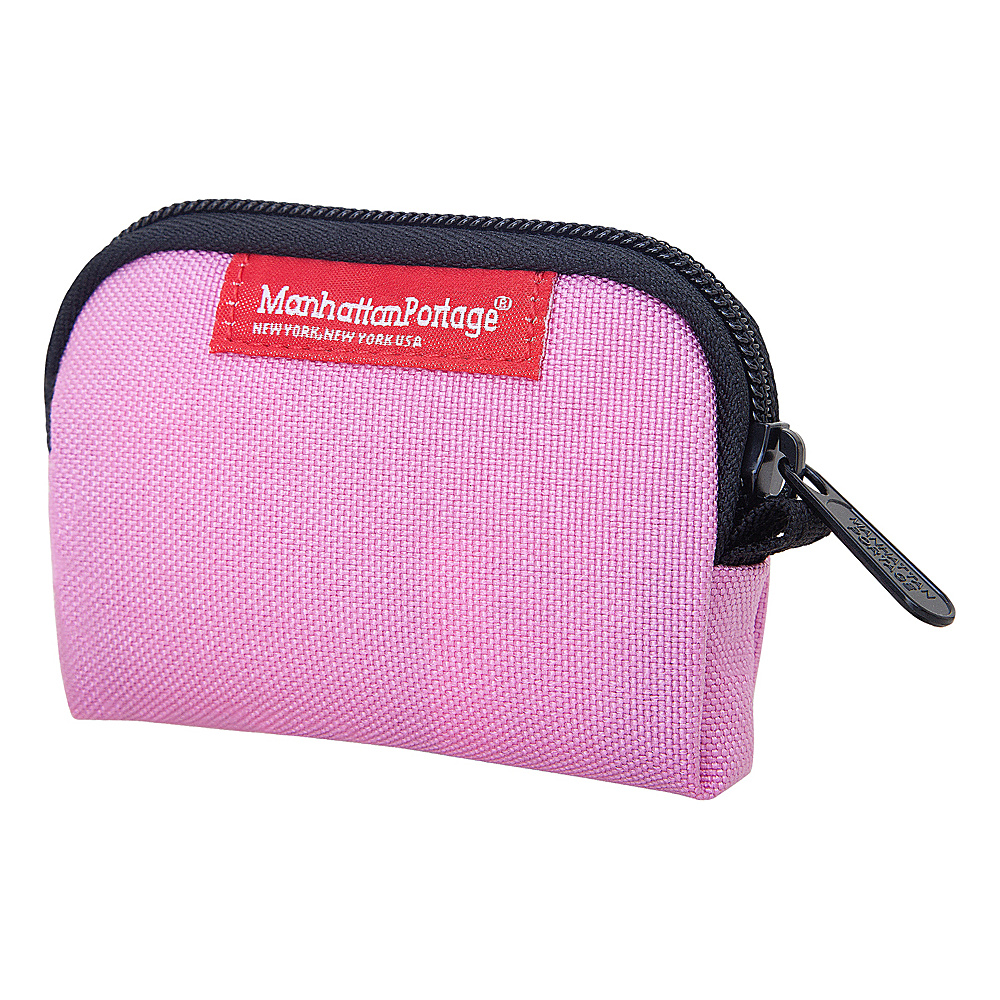 Manhattan Portage Coin Purse Pink - Manhattan Portage Womens Wallets - Women's SLG, Women's Wallets