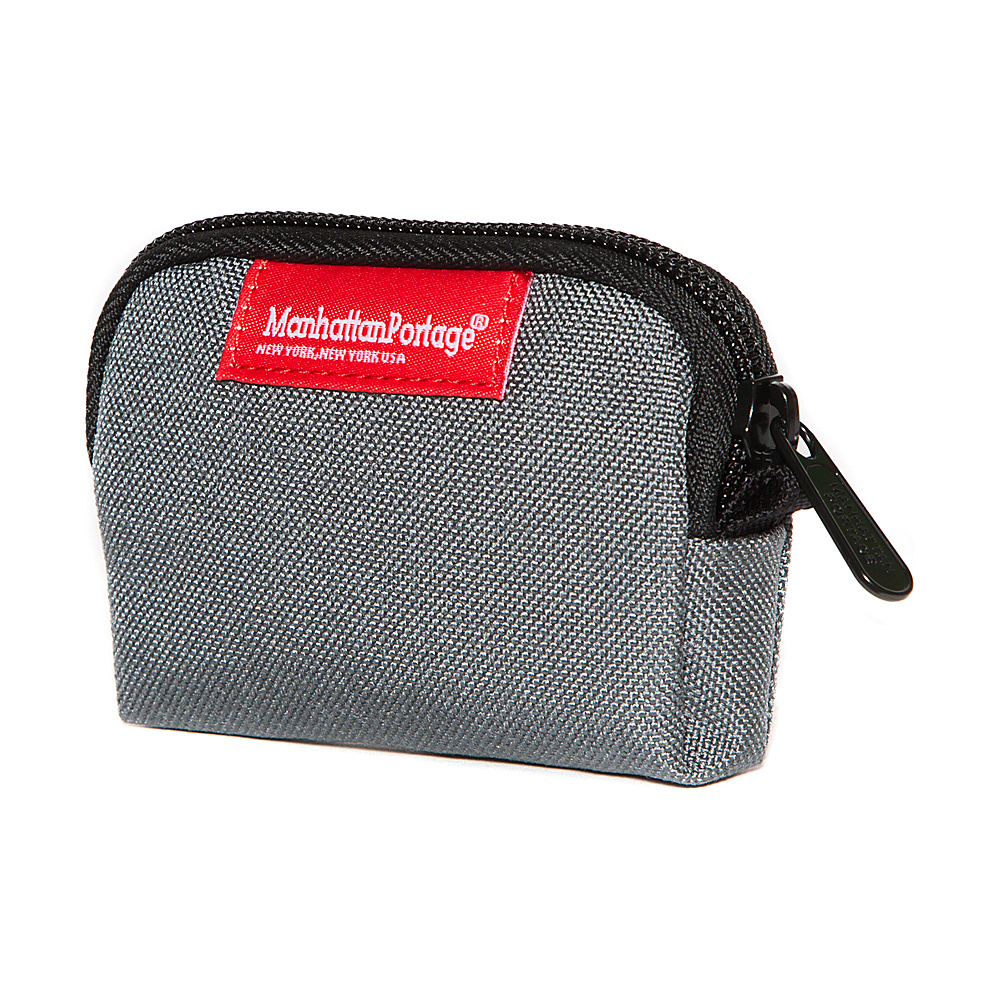 Manhattan Portage Coin Purse Gray - Manhattan Portage Womens Wallets - Women's SLG, Women's Wallets