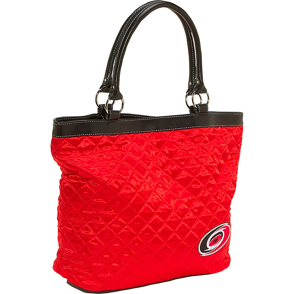 Littlearth Quilted Tote - Carolina Hurricanes Carolina Hurricanes - Littlearth Fabric Handbags